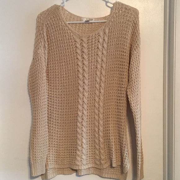 Kenar Sweaters Waffle Summer Knit Light Sweater Poshmark